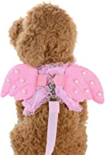 Binmer(TM) Angel Wings Pet Chest Strap Dog Harness Pet Vest Collars Rope for Small Puppy