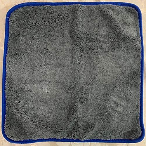 LMH 1200GSM Lavado de Coches de Gruesa Toalla de Microfibra Limpieza de Coche Toallas Detalle Detalle Paño de Pulido Trapos para Coches Cocina De Cocina 40x40cm (tamaño : 1 Pack(Blue))