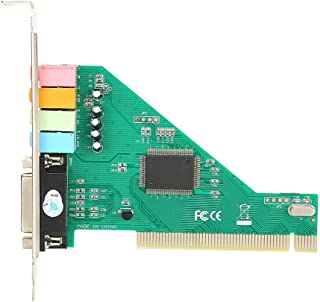 PCI Sound Card 4.1 Channel Computer Desktop Built-in Sound Card Internal Audio Karte Stereo Surround CMI8738 Support Duple...