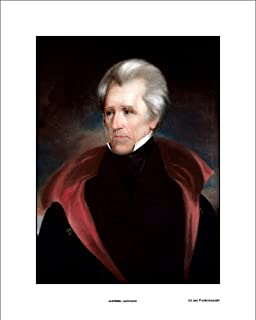 Andrew Jackson Official President Portrait Print, 16x20