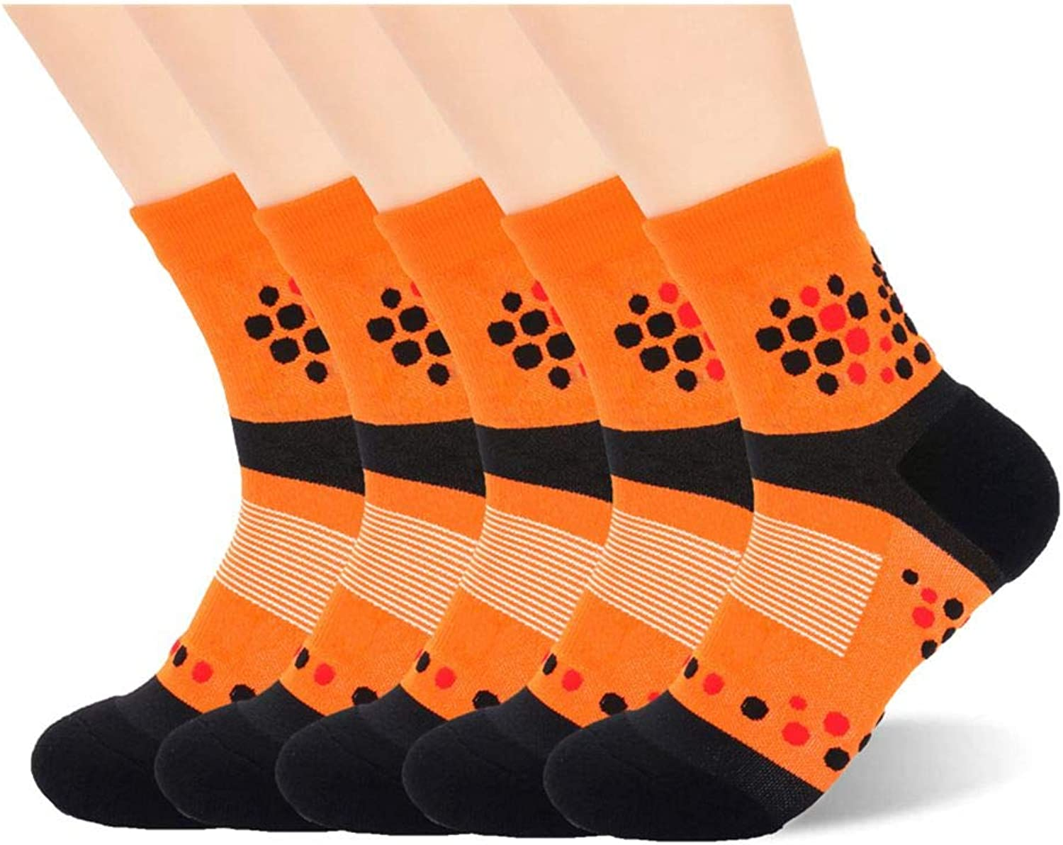 Copper Antibacterial Low Cut Athletic Ankle Quarter Socks for Mens and Womens
