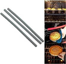 Housse de protection de bord de grille de four en silicone - Protecteurs universels de grille de four - Protège contre les...