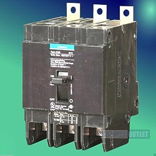 New Siemens ITE BQD3100 Circuit Breaker 3 Pole 100A 240VAC BQD 14kA Bolt-On