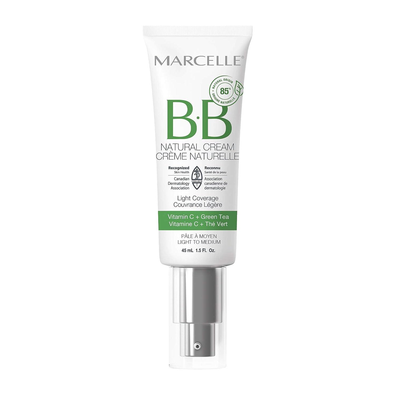 Marcelle BB Natural Cream, Light to Medium, 1.5 Ounces