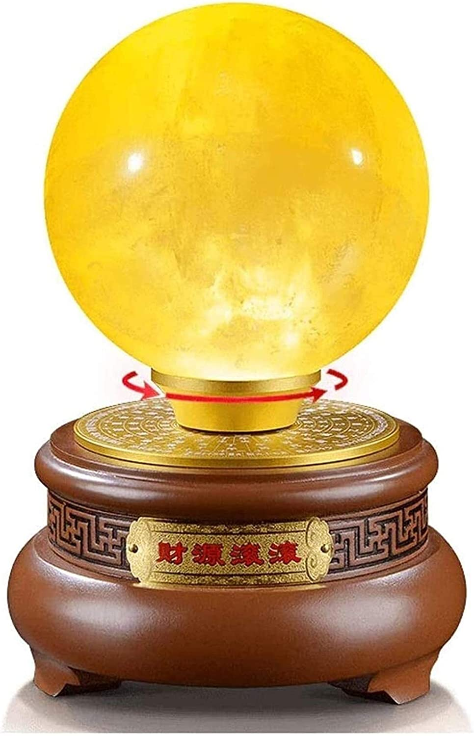 Don't miss the campaign RTUTUR Office Safety and trust Home Table Feng Ball Decoration Shui Decor Crystal