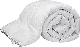 Pikolin Home - Edredón/Relleno nórdico de plumón de pato 90%, funda 100% algodón, 250gr/m², 180x220cm-Cama 100/105 (Todas las medidas)