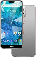 Nokia 7.1 TA-1085 Dual Sim 64GB/4GB (Gloss Steel) - Factory Unlocked - International Version - No Warranty in The USA - GSM ONLY, NO CDMA