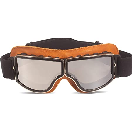 B-Transparent Lens TYSKL Retro Pilot Motorcycle Goggles Fog-proof Warm Goggles ATV Bike Motocross Glasses Helmet Protective Eyewear