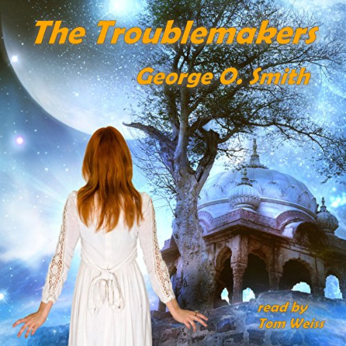 The Troublemakers audiobook cover art