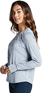 Rockwear Activewear Women's Ls Mesh Panel Top from Size 4-18 for
