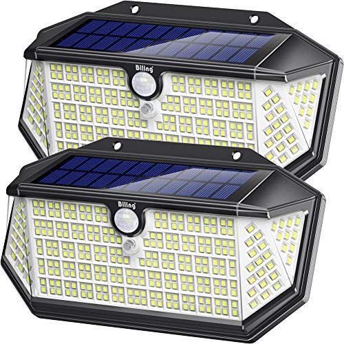2 Pack- Solar Lights Outdoor 266 LED with Lights Reflector for $23.79 f/s w Prime