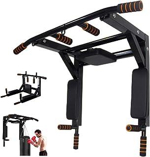 Slsy - Barra multifuncional para montar en la pared para gimnasia en casa, gimnasio, torre de potencia para gimnasio en ca...
