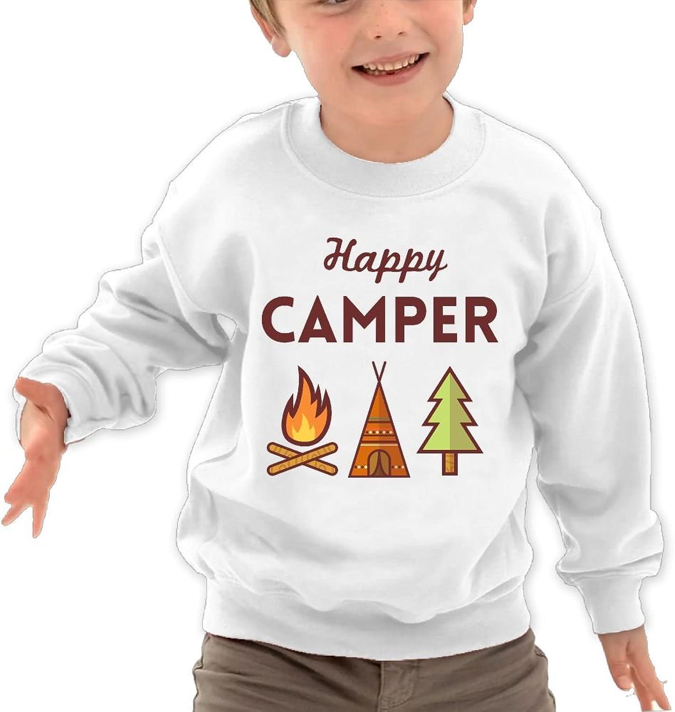 Boys Happy Camper 2017 Sport Long Sleeve Sweatshirt