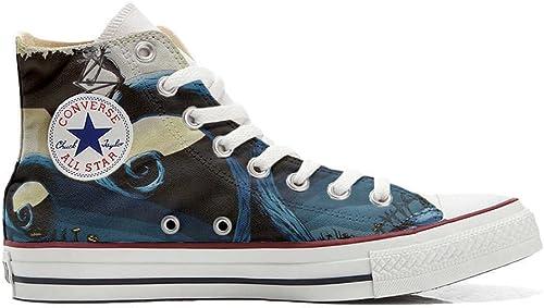 Converse All Star Chaussures Personnalisé Personnalisé et imprimés Unisex (Produit Handmade) Abstract Art