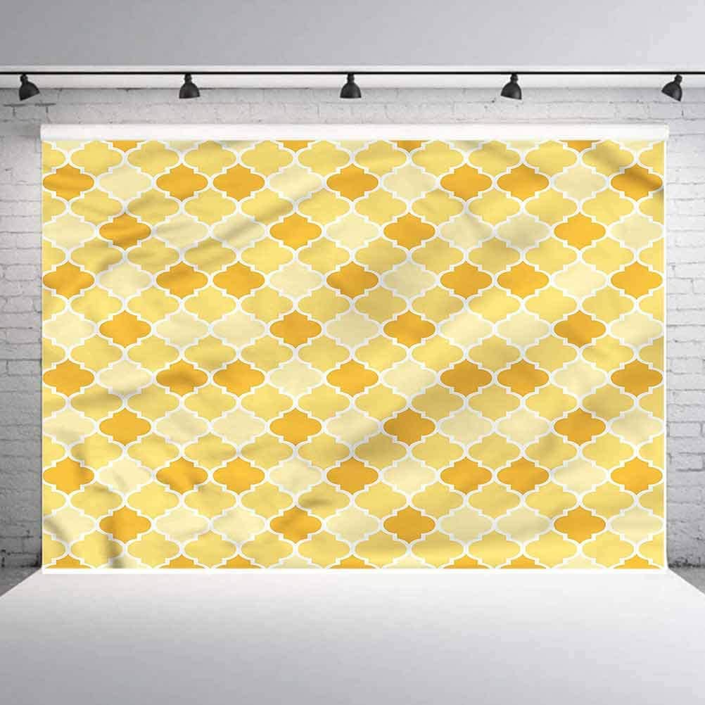 8x8FT Vinyl Backdrop Photographer,Traditional Folk Retro Background for Party Home Decor Outdoorsy Theme Shoot Props