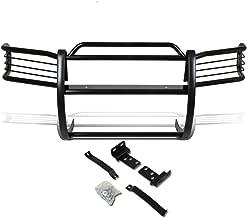 DNA MOTORING Black GRILL-G-050-BK Front Bumper Brush Grille Guard