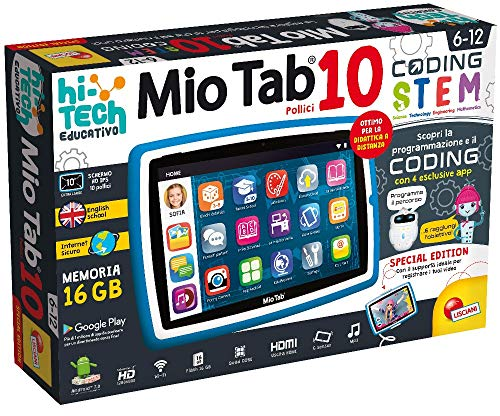Lisciani Giochi - Mio Tab 10' Evolution Stem Coding 2019 Special Edition, 71999