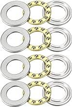 uxcell F12-21M Miniature Thrust Ball Bearings 12x21x5mm Chrome Steel 4pcs