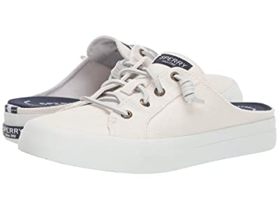 Sperry Crest Vibe Mule Canvas (White) Women