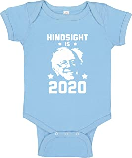 Indica Plateau Baby Romper Hindsight is 2020 Bernie Sanders 100% Cotton Infant Bodysuit