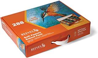 Reeves Soft Pastel School Pack, Assorted Color, Pack of 288