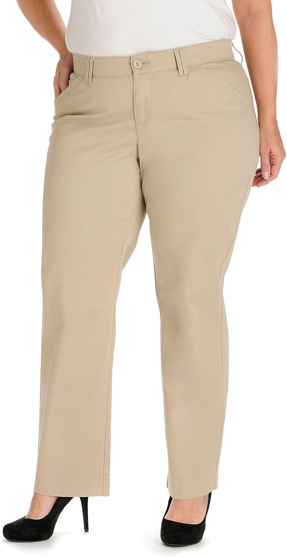 Lee Women's Petite Plus-Size Comfort-fit Kassidy Straight-Leg Pant