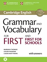 Grammar and Vocabulary for First and First for Schools. Book with Answers and Audio. (Cambridge Grammar for Exams)