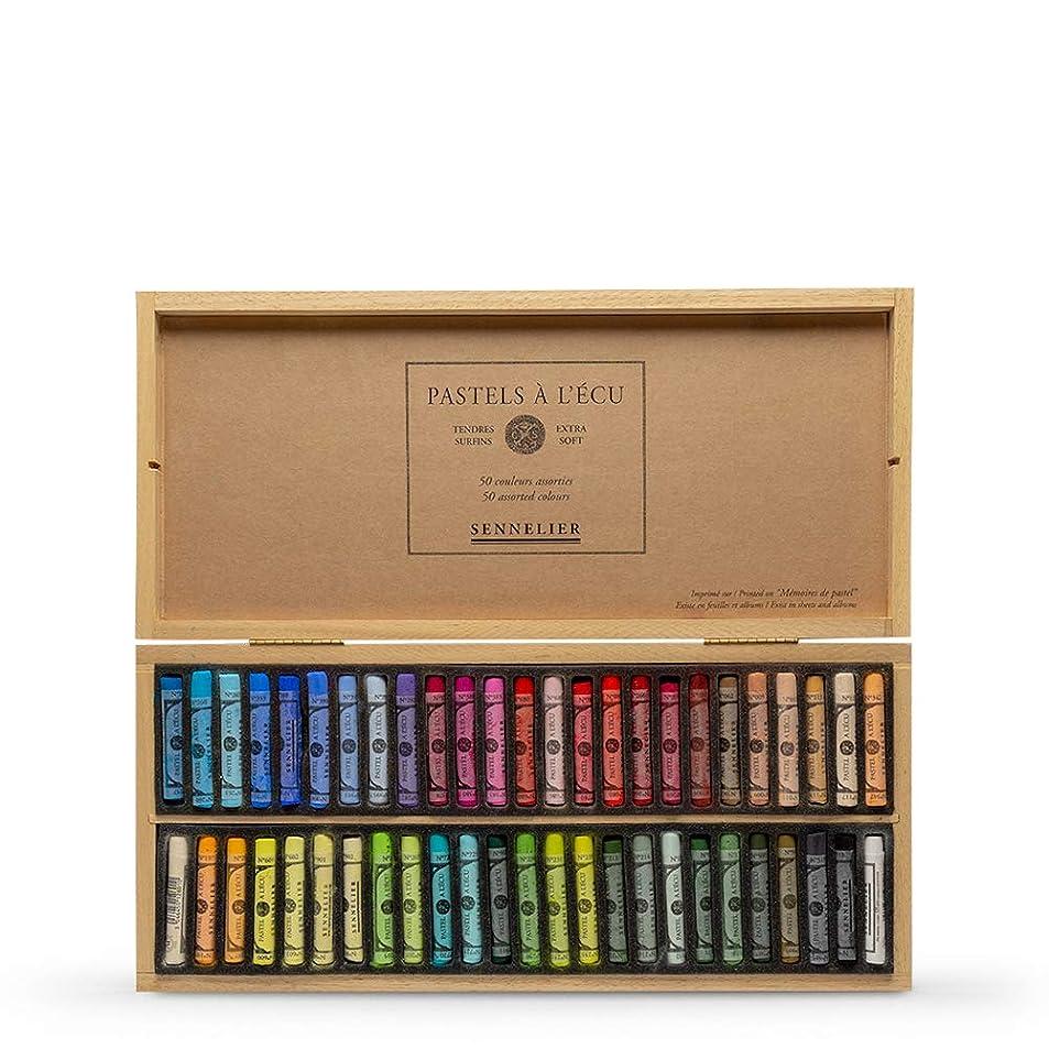 Sennelier Soft Pastel Wood Box Set of 50 rmleqgzt2369