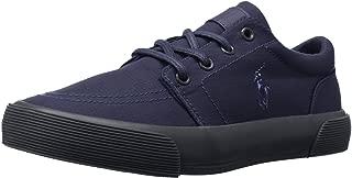 Polo Ralph Lauren Kids Faxon Ii Sneaker (Toddler/Little Kid/Big Kid), Navy, 7 M US Big Kid