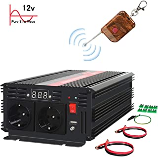 Correzione Inverter Onda Sinusoidale 12 V Convertitore 220V 600W Power Inverter con Pannello Solare per Outdoor