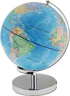 HOMYL Creative Day View World Globe & LED Night View Illuminated Constellation Globe, Kids Christmas School Gifts