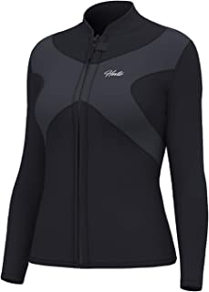 Hevto Wetsuits Tops X Men and Women 3mm Neoprene Jacket Long Sleeve Surfing Swimming Front Zip Keep Warm for Water Sports