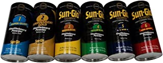 Sun-Glo Ultimate Variety Shuffleboard Powder Wax 6 Pack