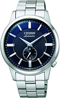 CITIZEN Mens Mechanical Watch, Analog Display and Solid Stainless Steel Strap - NK5000-98L