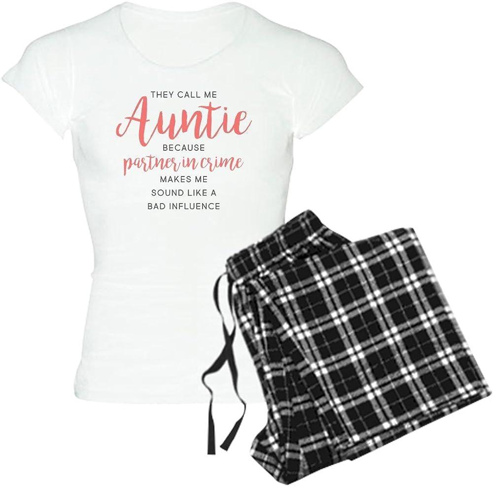 CafePress Auntie Partner in Max 88% OFF Crime Women's Sale item PJs