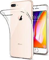 Spigen Apple iPhone 8 Plus - iPhone 7 Plus Kılıf Liquid Crystal 4 Tarafı Tam Koruma / Crystal Clear - 043CS20479
