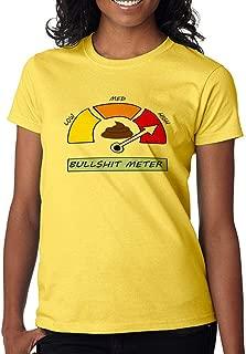 DanielDavis Gamer Fan Bullsh*t Meter Funny Custom Made Women's T-Shirt
