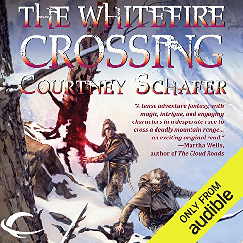 The Whitefire Crossing audiobook cover art