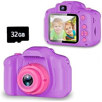 Spielzeuge für 3 6 Jahre Mädchen YORKOO Kinder Kamera
