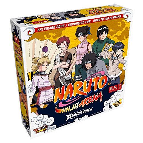Don't Panic Games Naruto Ninja Arena – Das Gesellschaftsspiel – Erweiterung: Genin Pack DPG1034