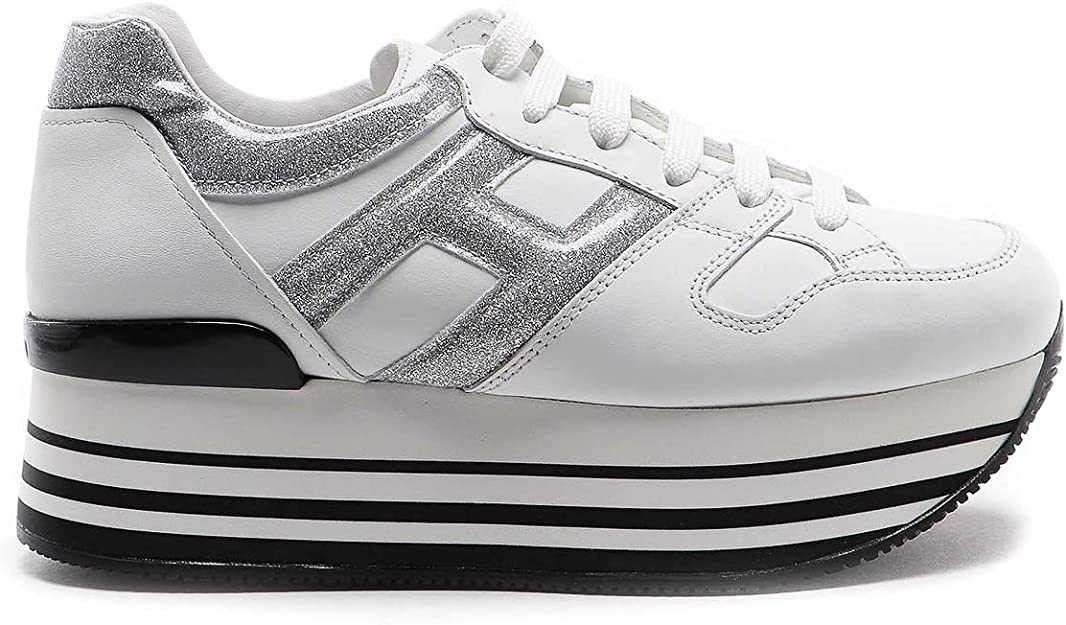 Hogan Sneaker Maxi H222 Bianca HXW2830T548N1Q0351 Bianco Donna 35½ ...