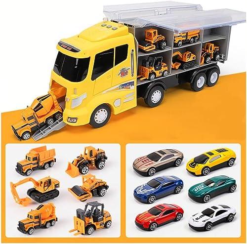 marca en liquidación de venta Siyushop Juego Juego Juego de Juguetes para Auto, Tractor Bulldozer Mezclador Camión Dumper Aleación Coche de Juguete, Niño camión de Juguete Boy Boy Car Toy (12 Coches  el mas reciente