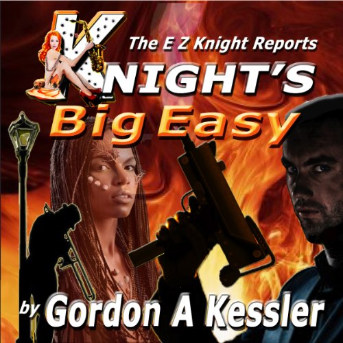 Knight's Big Easy audiobook cover art