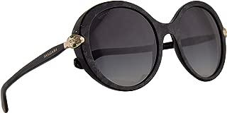 Bvlgari BV8204-B Sunglasses Bvlgari Black Mamba w/Grey Gradient 54mm Lens 54128G BV8204B 8204B BV 8204-B Bulgari
