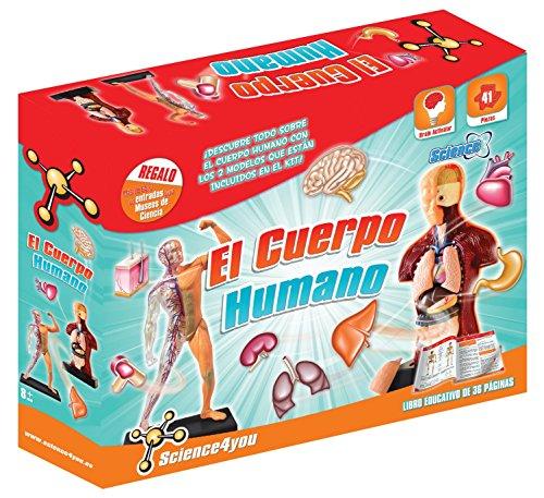 Science4you-El El cos humá, joguet educatiu i científic (399228)