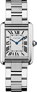 Cartier Women's W5200013 Tank Solo Stainless Steel Dress Watch