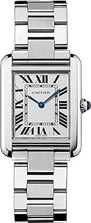 Cartier Women's W5200013 Tank Solo Stainless Steel Dress Watch
