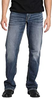 Silver Jeans Co. Men's Zac Knit Relaxed Fit Straight Leg Jeans