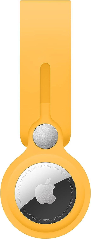 funda original para Apple Airtag amarillo