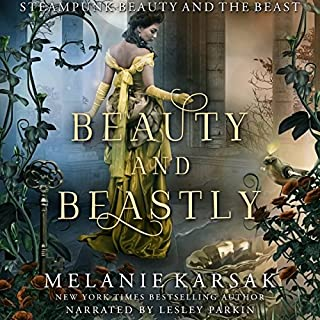 Beauty and Beastly audiobook cover art